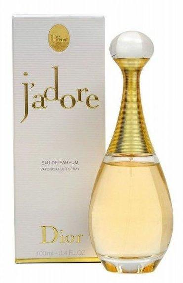 """Bakı şəhərində """"jadore"""" ətri. 100 ml. Originaldır."""