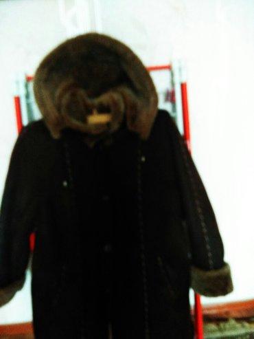 Натуральная дублёнка 54-56 б/ у цена 5500 сом производство Турция тел в Бишкек