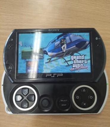 PSP (Sony PlayStation Portable) в Кыргызстан: Продаю PSO GO, состояние отличное, консоль Прошитая, закачаны игры
