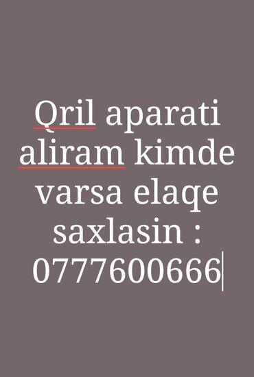 чехол iphone 7 plus в Азербайджан: Salam, vezyetinden asili olmayarag qril aparatı aliram kimde satlig va