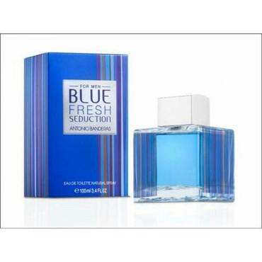 Antonio juan gəlincikləri - Azərbaycan: Antonio Banderas Blue Fresh Seduction 100 ml. (Kişi üçün Dubai
