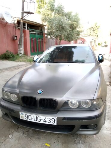 bmw 4 серия 418d mt - Azərbaycan: BMW 5 series 2.5 l. 2002 | 300000 km
