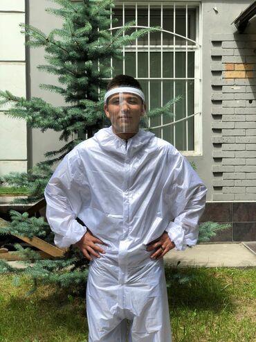 Защитные костюмы TYVEK. Высокая степень защиты.Пропитан маслом вода
