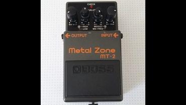 brilliance m2 2 mt - Azərbaycan: BOSS Metal Zone MT-2 Çox az işlənilib yeni kimidir