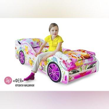Детская мебель в Кок-Ой: Детская мебель№025Кровати машины в наличии, новые в упаковке