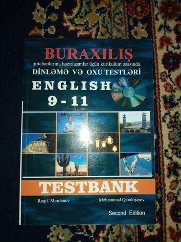 Kitab, jurnal, CD, DVD Gəncəda: İngilis dilinden dinleme və oxu testleri