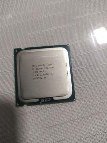 Процессор intel pentium dual-core E5300 2.60 ghz