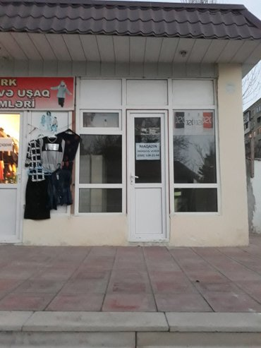 Bakı şəhərində Abyekt Gozellik Salonu ucun Arendaya verilir... Yol kenari Astanovkada