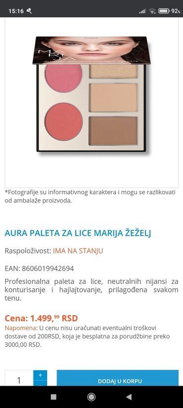 Marama harley davidson - Srbija: Paleta Marija Žeželj, ne korišćena samo svočovana, kupila je i od tad