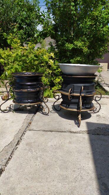Все для дома и сада в Кок-Ой: Очаг для дома удобный для транспортировки. С 10 литровым казаном