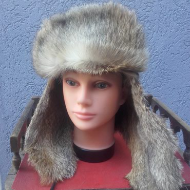 Ruska  kapa  šubara  od  murvela  prirodno  krzno  fantasticna  i  - Novi Pazar