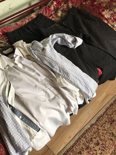 блузки для школы в Кыргызстан: Одежда для школы  1фото:все вместе 2фото:чёрные штаны,на рост 180 и вы