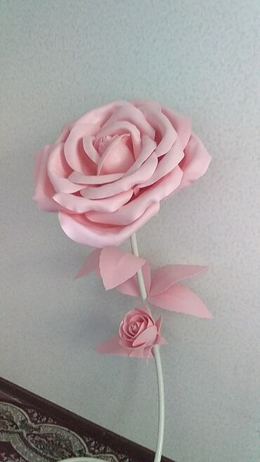second hand obuv в Кыргызстан: Rose. Izolon. Hand made. Big roses. Sale. Hand made rose izolon