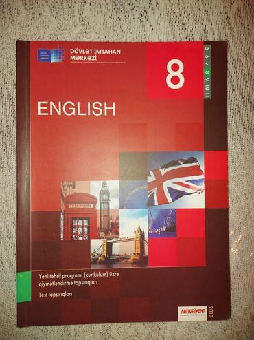 Ingilis dili dim 8 ci sinif az işlenib