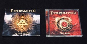 """Firewind, 2 αυθεντικά album. """"Allegiance"""" του 2006 σε Thessaloniki"""