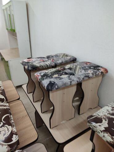 Стол и четыре табуретки Стол с табуретками  С доставкой  Абсолютно нов