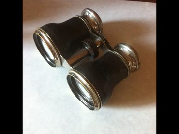 Binokllar Azərbaycanda: Редчайший старинный антикварный бинокль 19века на окулярах надпись CHE