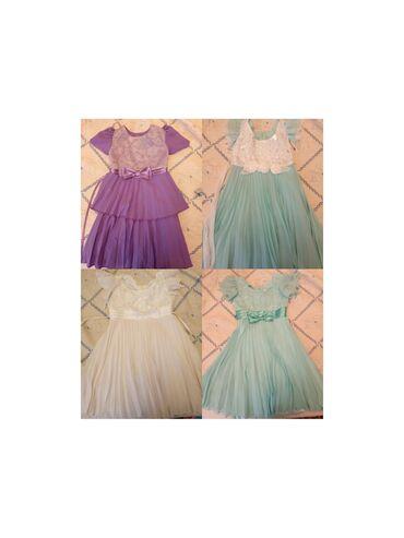 спортивные платья больших размеров в Кыргызстан: Платья новые размеры 2-4лет. Самопашив