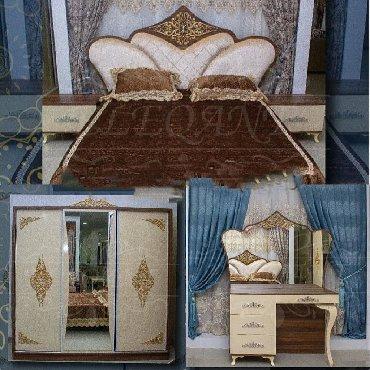 Дом и сад в Азербайджан: Yataq desti Yataq otagi Спални мебел orginal versiya fabrik istehsali