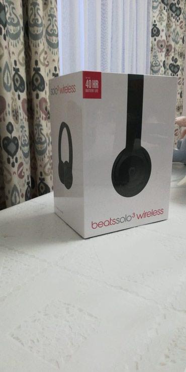 Продаю наушники Beats Solo3 Wireless со штатов оригинал в Бишкек