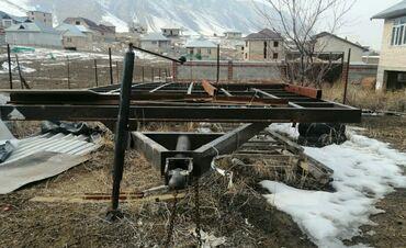Прицепы - Новый - Бишкек: Продаю прицеп2,6х6мфаркоп кыргызавтомашшвеллер 10 рычаги бмв е342х