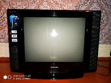Samsung televizor 54 ekran təzə kimi cızığı sınığı yoxdu. işləməyində