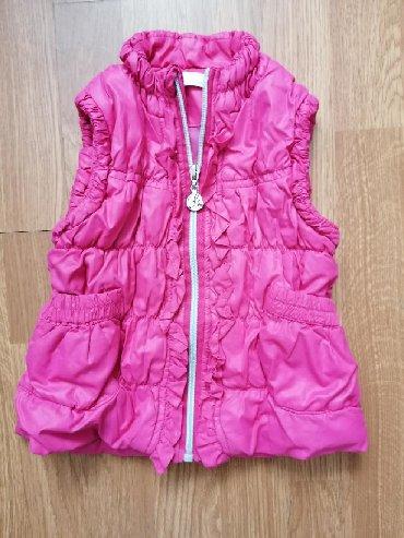 Dečije jakne i kaputi | Leskovac: Prsluk kao nov. Velicina za dete od 18-24 meseca