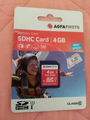 Agfa Photo Mikro SD Card   4 Gb - Belgrade