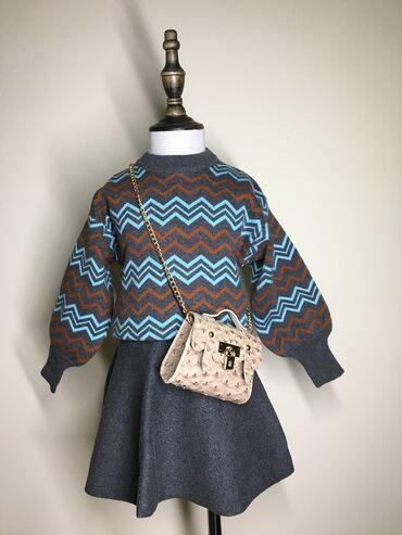 Детский комплект кофта+юбка из качественного материала Производство Гу