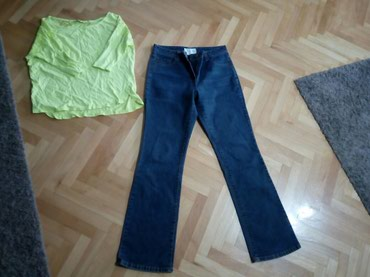 Farmerice i bluza poklon S - Nis