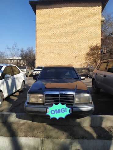 купить мотор мерседес 2 2 дизель в Кыргызстан: Mercedes-Benz W124 2.2 л. 1992   280 км