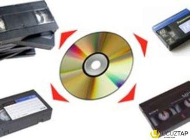 pulsuz it verilir - Azərbaycan: Video kassetdən diskə yazilişi.bir video kasset 4 azn