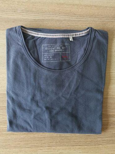 Esprit-manti - Srbija: ESPRIT majica dugih rukava, sive boje, XXL - NOVO   ESPRIT majica dugi
