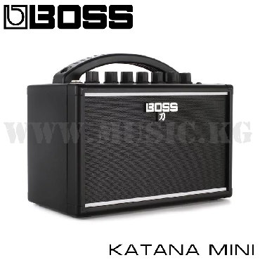 соло гитара в Кыргызстан: Комбоуcилитель Boss Katana-miniУльтракомпактный усилитель с