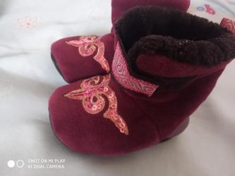 туфли как лабутены в Кыргызстан: Теплые пинетки,состояние отличное,как новые,примерно на 9-12 месяцев