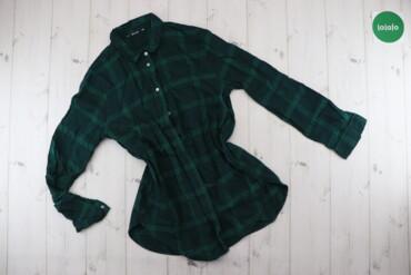 Жіноча сорочка у клітинку H&M     Довжина: 70 см Ширина плечей: 36
