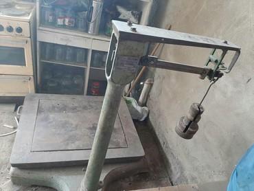 Оборудование для бизнеса в Токмак: Продаю Советские стальные весы.работают как швейцарские часы.состояние