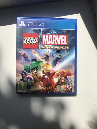 Ps4 Lego Marvel Super Heroes , Игры на Ps4  в Бишкек