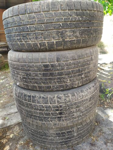 Автозапчасти и аксессуары в Душанбе: Продаю шины на р16. 215/55. Есть пара, комплект