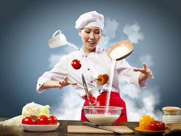 тандыр для шашлыка в Кыргызстан: Требуются повар холодного цеха, повар раздачи и шашлычник на полный ра