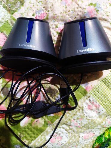 Колонки, гарнитуры и микрофоны - Кыргызстан: Колонки для компьютера в отличном состоянии