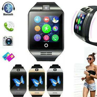 Qol saatları - Hövsan: Smart watch kamera sim kart tf.kart 16-32 gb sekilde olan butun funksi