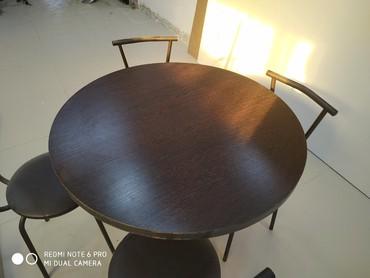 Продается стол с стульями в комплекте в Бишкек