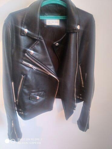 Мужская одежда - Кок-Ой: Продаю кожаную куртку для осени. В очень хорошем состоянии