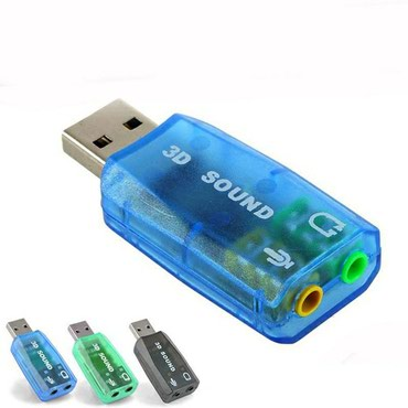 sound card - Azərbaycan: Usb audio konverter. ses kart. sound card. qulaqligi kompyutere usb