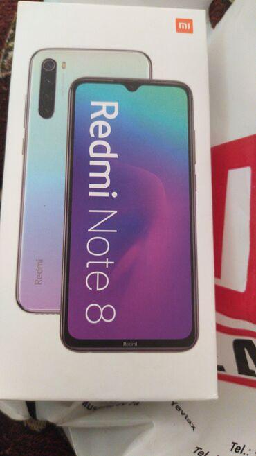 Elektronika Yevlaxda: İşlənmiş Xiaomi Redmi Note 8 64 GB qara