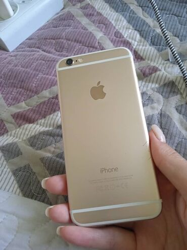 touch 6 в Кыргызстан: Б/У iPhone 6 64 ГБ Золотой