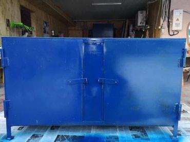 Верстак металлический 140×70×80. металл 3 мм. в Бишкек