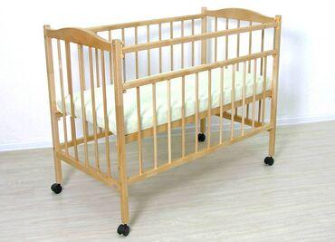 Другие товары для детей - Кыргызстан: Кровать манеж с матрасом от Лины (в целофане). Кровать в отличном