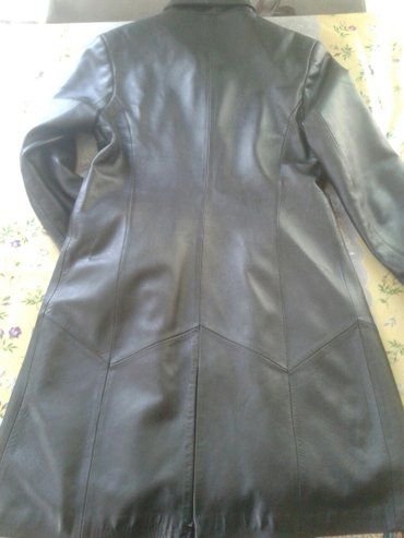 сюртук весенний в Кыргызстан: Кожаный сюртук в отличном состоянии! очень хорошего качества 46-48